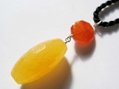 SACRAL CHAKRA Orange Calcite with Carnelian