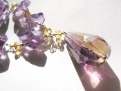 Amertrine, Citrine and Amethyst