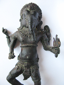 Antique Ganesh Dancing Statue
