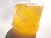 Orange Calcite Chunk 1