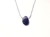 TOURMALATED QUARTZ NECKLACE, DARK - PROTECTION