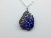 Tanzanite Crystal Necklace