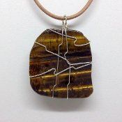 Tigers Eye Wrapped
