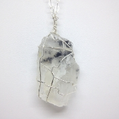 Dendric Petalite Necklace 1
