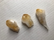 Brazilian Citrine Points 5